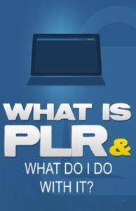 What's PLR?
