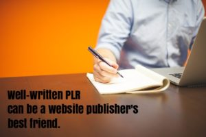 slant your PLR