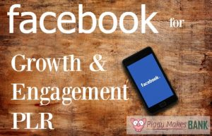 About 1.32 billion people are on Facebook daily. This social media PLR will help you teach your readers how to get growth and engagement through Facebook.
