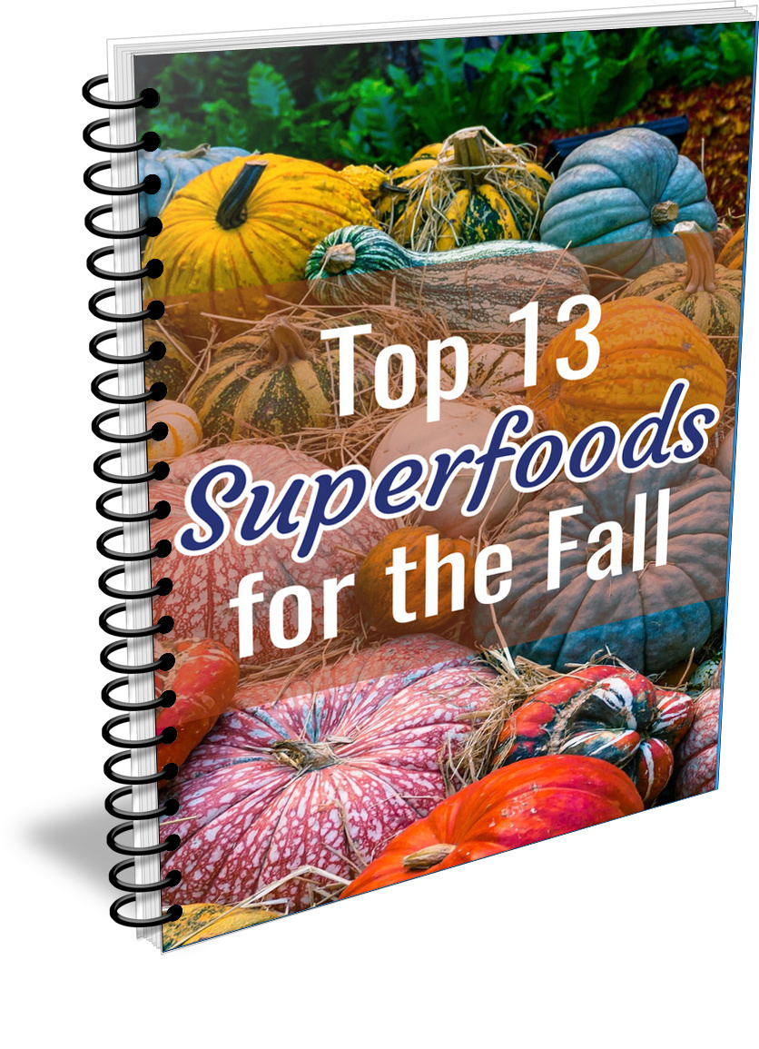 Superfoods PLR Bundle — Superfoods Coming Into Season This Fall