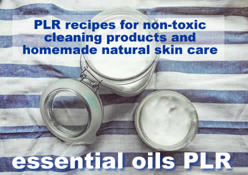 Tap into the growing essential oils market with this green living PLR. Find essential oil based recipes for home cleaning and personal use.