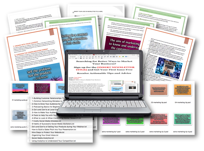 Marketing PLR – Done For You Newsletters