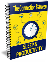 Wellness PLR – Sleep and Productivity