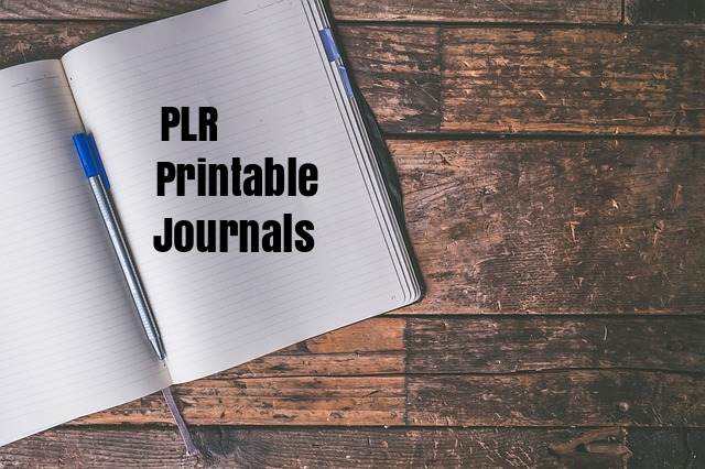 PLR Printable Journals with Four Different Themes