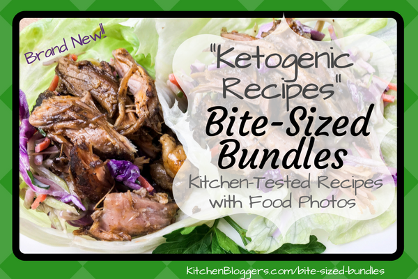 You've heard me rave about Trish at KitchenBloggers.com before. Her new pack is a hot topic perfect for New Year's posts -- Ketogenic Recipe PLR.