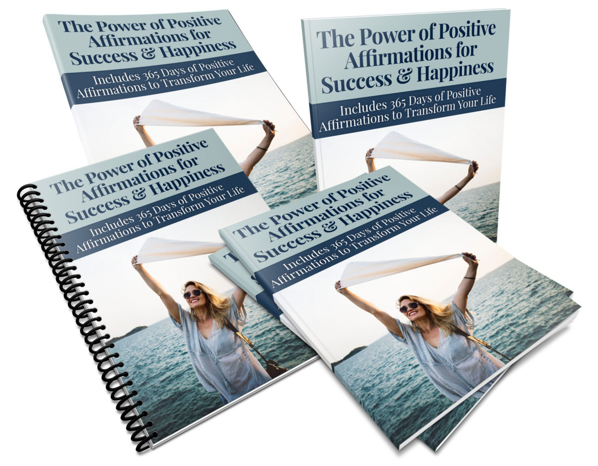 A Year's Worth of Positive Affirmations PLR