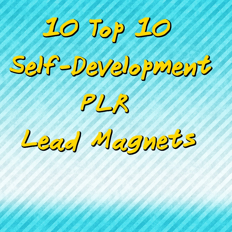 Self-Development Lead Magnet PLR Pack – 10 Top 10s