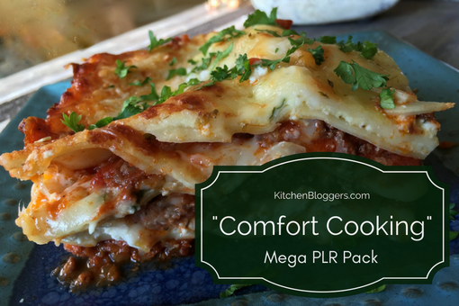 Comfort Cooking PLR